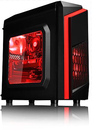 VIBOX Killstreak RS770-269 Gaming PC - 4.2GHz 4 Core, RX-570, 8GB RAM, 1TB  HDD/SSD, No Windows