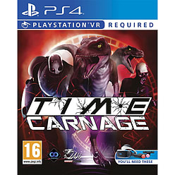 Time CarnagePlayStation 4Cover Art