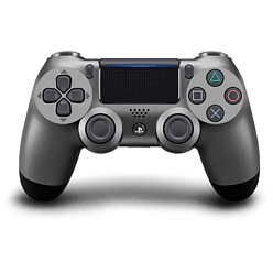 Steel Black DUALSHOCK®4 Wireless Controller PlayStation 4