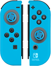 Neon Blue Joy-Con Gel Guards