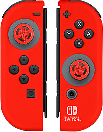 Neon Red Joy-Con Gel Guards