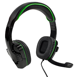 XBOX One Gaming Headset for Xbox One, and PS4 – Green Xbox One