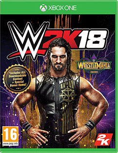 WWE 2K18 WrestleMania Edition - Only at GAMEXbox One