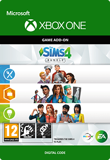 The Sims 4 Bundle (Get to Work, Dine Out, Cool Kitchen Stuff)Xbox One
