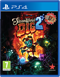 SteamWorld Dig 2PlayStation 4Cover Art