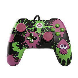 Buy PowerA Wired Controller for Nintendo Switch - Splatoon | Free UK ...