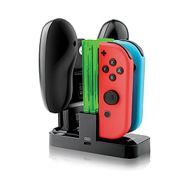 Gameware 4 in 1 Pro LED Joy-Con Charging Dock + Pro