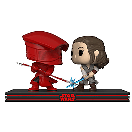 Pop! Star Wars: Movie Moment - Rey & Praetorian Guard