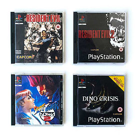 Playstation Coaster Retro Game cases vol 3 new Official vintage 4 packHome - Tableware