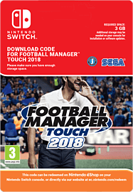 Football Manager Touch 2018Switch