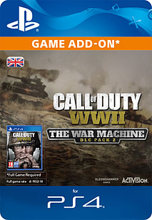 Call of Duty®: WWII - The War Machine: DLC Pack 2 for PlayStation 4