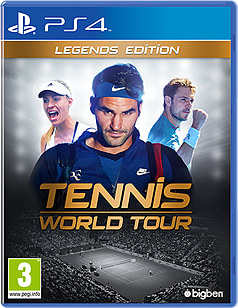 Tennis World Tour Legends EditionPlayStation 4