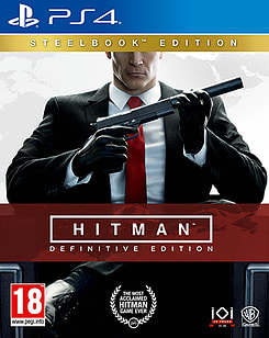 Hitman Definitive Edition - Day One SteelbookPlayStation 4