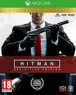 Hitman Definitive Edition - Day One SteelbookXbox One