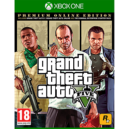 Grand Theft Auto V: Premium Online Edition - Only at GAMEXbox One