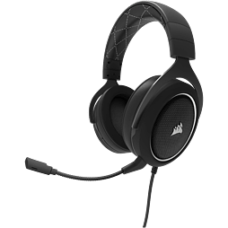 Corsair HS60 White Headset - Black