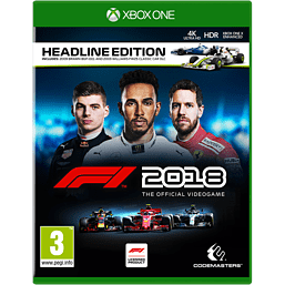 F1 2018 Headline Edition - With Only at GAME Steelbook