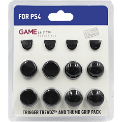 Gameware Trigger Treadz & Thumb Grip Pack - PS4 for PlayStation 4