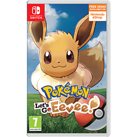 Pokémon Let's Go! Eevee + Exclusive Keyring