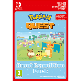 Pokemon Quest - Great Expedition Pack