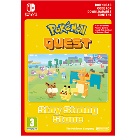 Pokemon Quest - Stay Strong Stone