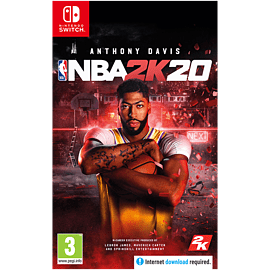 NBA 2K20 with GAME Exclusive Basketball