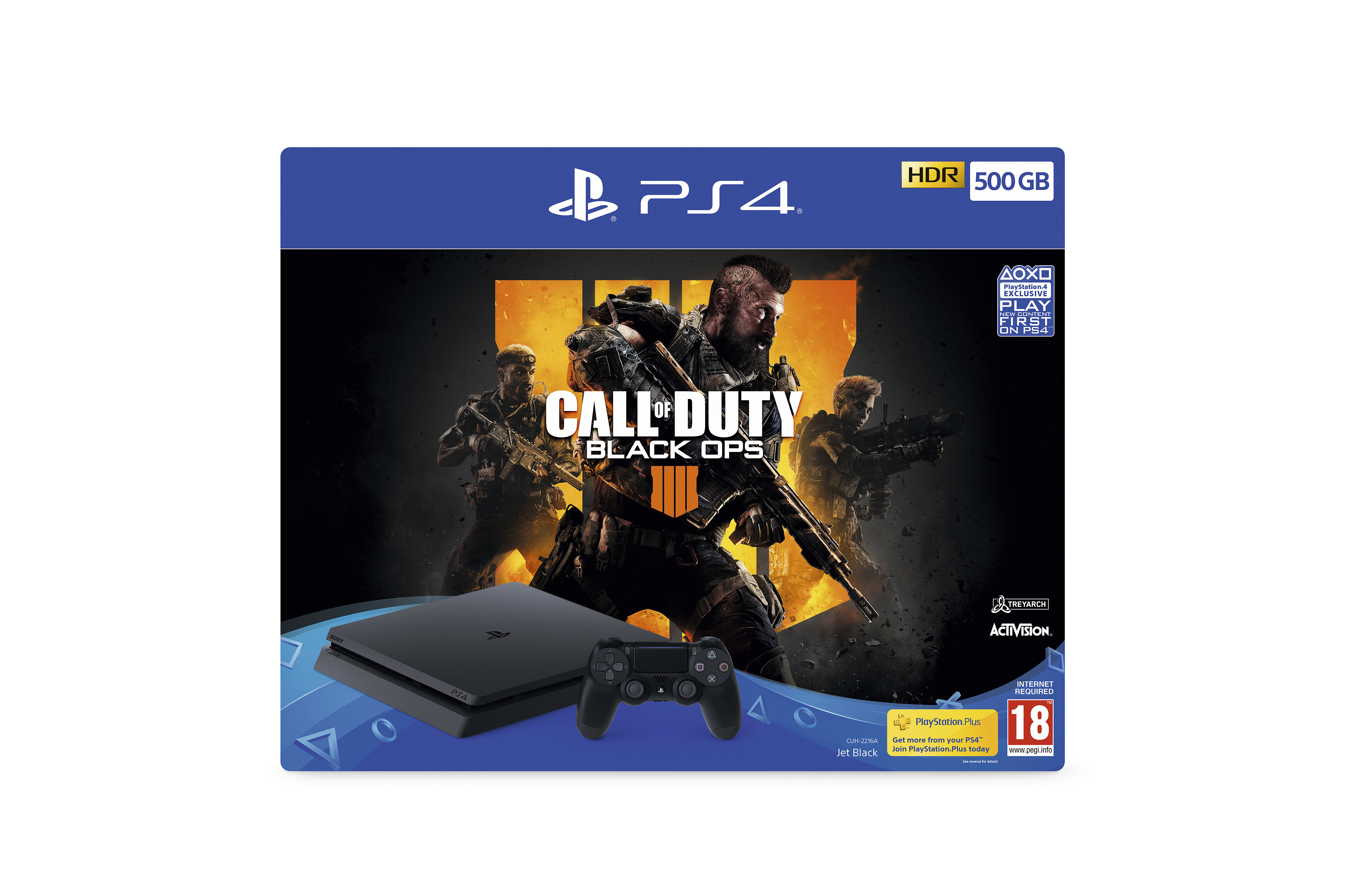 Buy Call Of Duty Black Ops 4 Ps4 500gb Bundle Free Uk Delivery Game Gold Edition