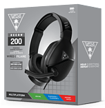 Turtle Beach Recon 200 Headset - Black screen shot 1