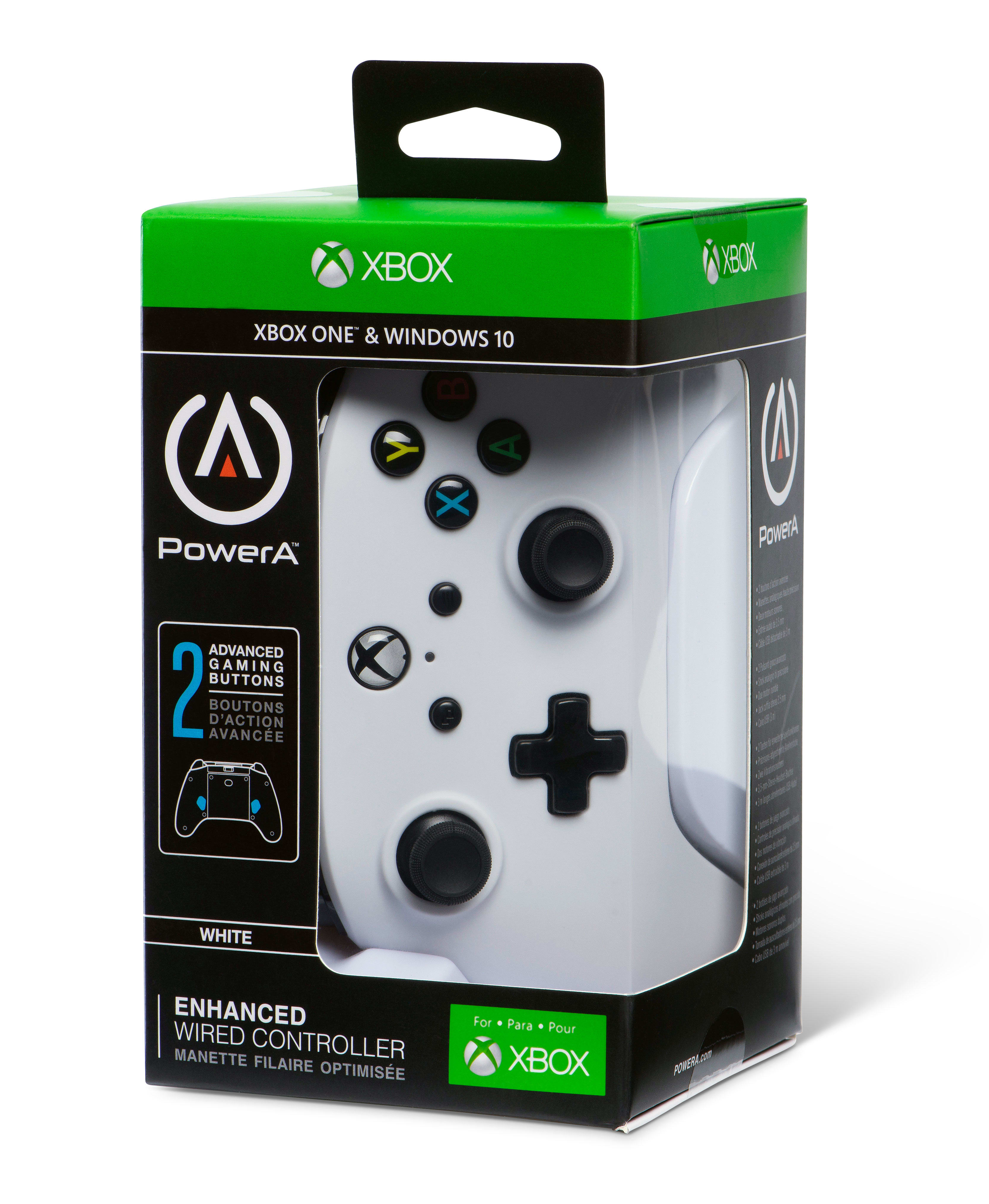 Buy Xbox One Enhanced Controller - White | Free UK Delivery | GAME