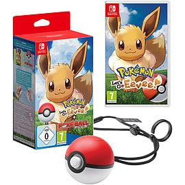 Pokémon: Let's Go! Eevee + Pokéball Plus + Exclusive Keyring