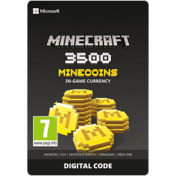 Minecraft: Minecoins Pack: 3500 Coins