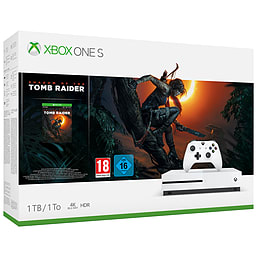 Xbox One S 1TB Shadow of the Tomb Raider Bundle