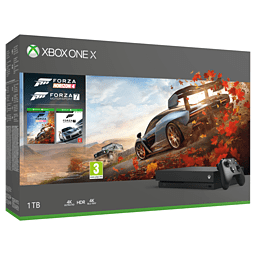 Xbox One X Forza Horizon 4 Bundle and Forza Motorsport 7