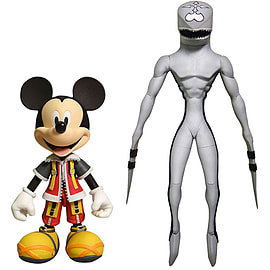 Kingdom Hearts Action Figures: Mickey & Dusk