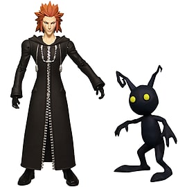 Kingdom Hearts Action Figures: Axel & Shadow