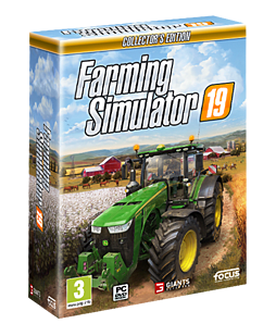 Farming Simulator 19: Collector's Edition - With Only at GAME Pre-Order Bonus