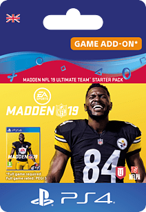 Madden NFL 19: Ultimate Team Starter Pack for PlayStation 4