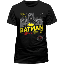 Batman 8-bit T-Shirt - XXL - Only at GAME for Clothing and Merchandise