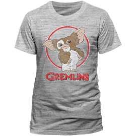 Gremlins - Gizmo Distressed T-Shirt - Large