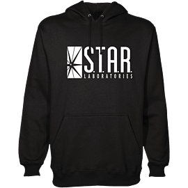 The Flash - Star Labs Hoodie - Large