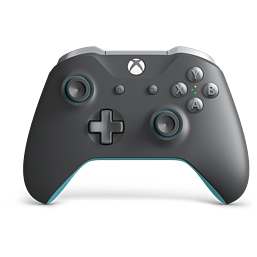 Official Xbox One Wireless Controller - Grey/Blue