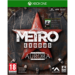 Metro Exodus: Aurora Limited Edition - With Only at GAME Pre-Order Bonus