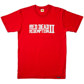 Red Dead Redemption 2 Logo T-Shirt - XL