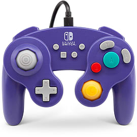 PowerA WIRED GameCube Controller for Nintendo Switch – Purple