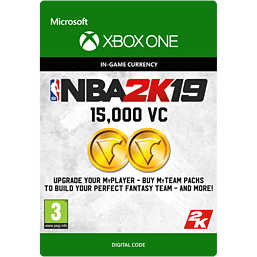 NBA 2K19: 15,000 VC for Xbox One