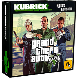 Grand Theft Auto V: Heist Edition Kubrick Set