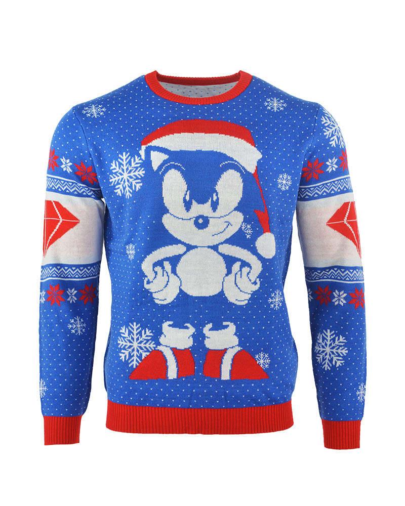 Buy Sonic The Hedgehog Sonic Gem Christmas Jumper Medium On