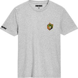 Fortnite Rex T-Shirt Grey - Child - S - Only at GAME