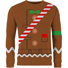 Fortnite Merry Marauder Jumper Chestnut - M