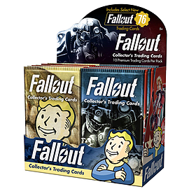 Fallout Trading Cards Series - Counter Top Display includes 24 Packs